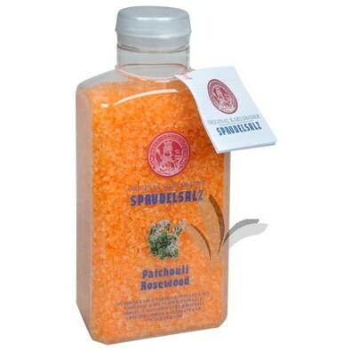 Karlovarská koupelová sůl, růžové dřevo