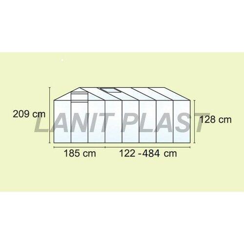 Skleník LanitPlast Mythos 6 x 14  185 x 428 cm