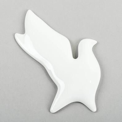 3D tapeta BIRDS hrdlička, bílá