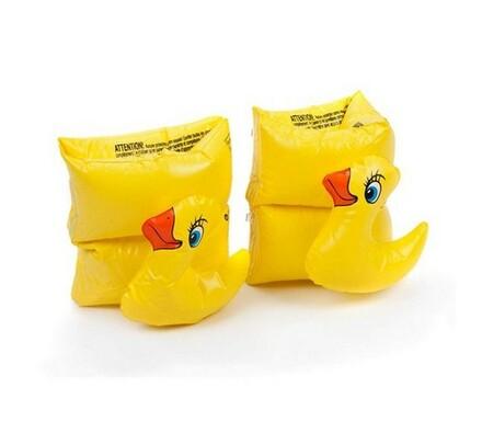 Nafukovací rukávky, Funny Animals, žlutá, 20 cm