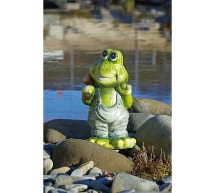 Dekorace na zahradu žabák