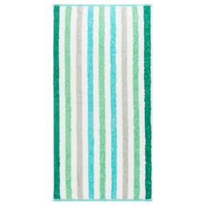 Cawo Frottier ručník Stripe tyrkys, 50 x 100 cm