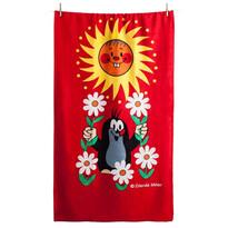 Matějovský Ręcznik Krecik i słoneczko, 70 x 150 cm