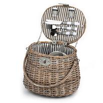Coș de picnic pentru 2 persoane Capri,  30 x 27x 21 cm