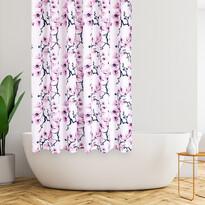 4Home Zasłona prysznicowa Sakura, 178 x 183 cm