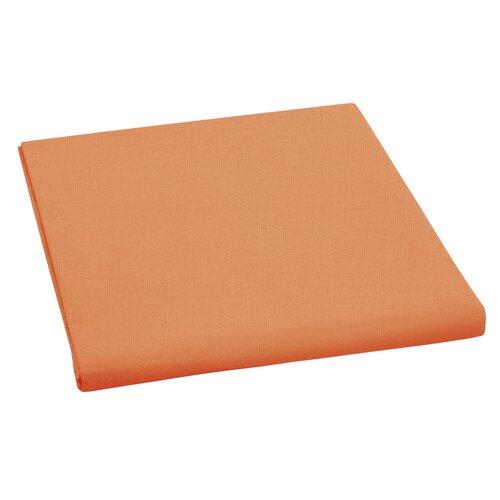 Plátené prestieradlo oranžová, 150 x 230 cm