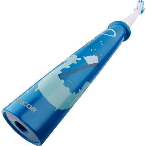 Sencor SOC 0910BL dětský zubní kartáček, modrá