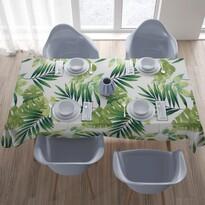 Față de masă Domarex Green Leaves, 110 x 160 cm