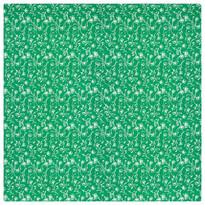 Zora abrosz, zöld, 60 x 60 cm