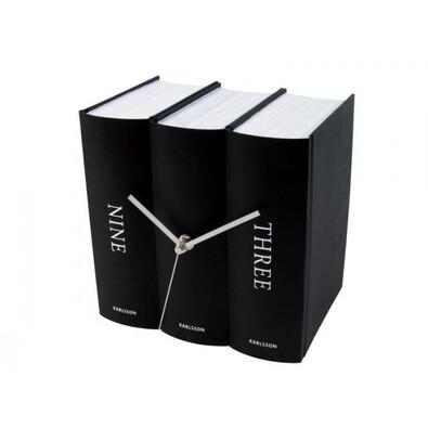 Karlsson 4283 stolní hodiny černá