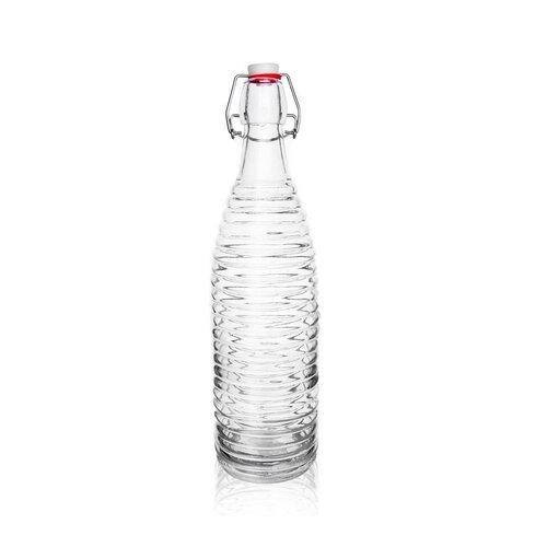 Orion Sklenená fľaša s Clip uzáverom Erik, 1 l
