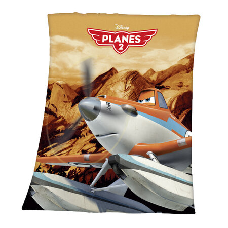 Detská deka Planes 2 Prášek, 130 x 160 cm