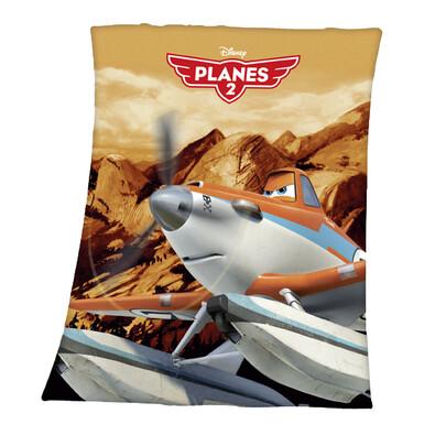 Dětská deka Planes 2 Prášek, 130 x 160 cm