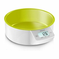 Sencor SKS 4004GR digitális konyhai mérleg, zöld