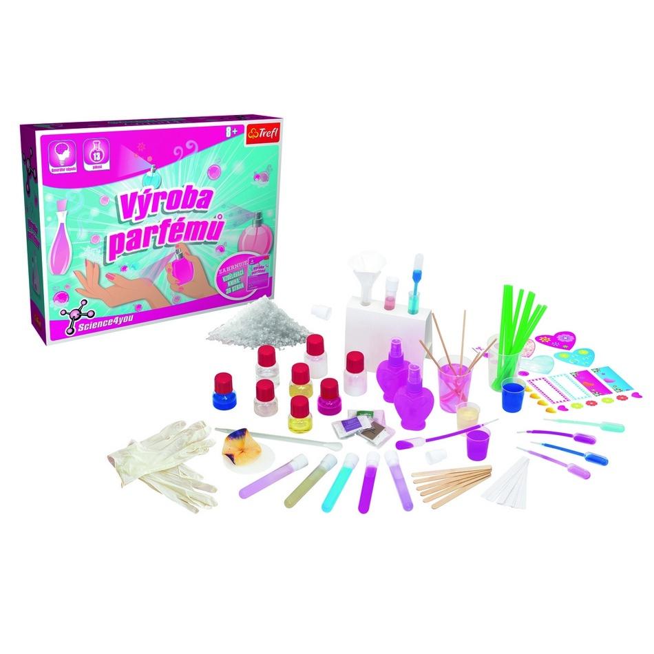 Trefl Vedecká hra Science4you Továreň na parfémy