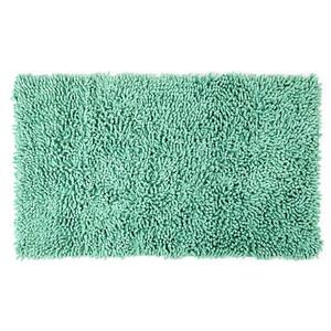 Koupelnová předložka Bari tyrkysová, 45 x 75 cm