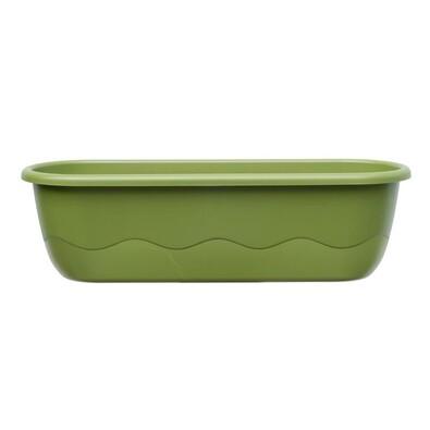 Samozavlažovací truhlík Mareta 60 zelená