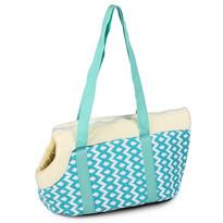 Přepravní taška pro domácí mazlíčky Animal space, modrá