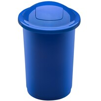 Aldo Top Bin szelektív hulladékgyűjtő kosár, 50 l, kék