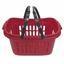 Plastový košík s držadlami, 59 x 39 x 28 cm