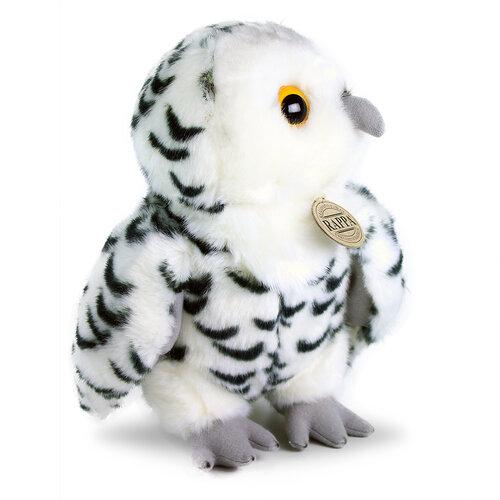 Rappa Plüss Bagoly fehér, 25 cm