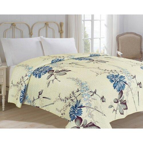 Přehoz na postel Bianca béžová, 220 x 240 cm