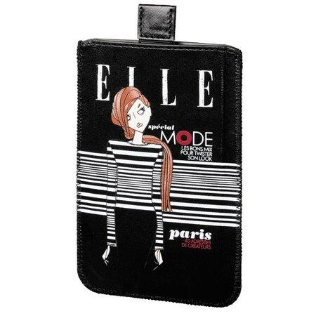 ELLE Special Mode pokrowiec na smartphona rozmiar L, czarny,