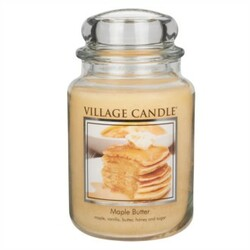 Village Candle Vonná svíčka ve skle, Javorový sirup - Maple Butter, 645 g, 645 g