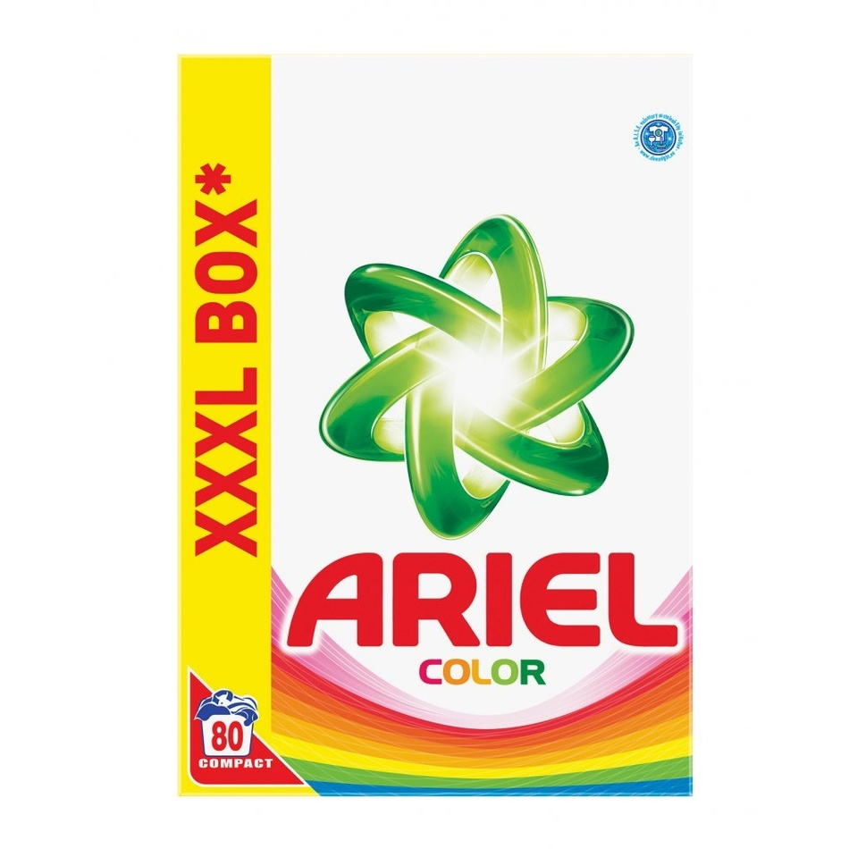 Ariel prací prášok Color & Style 5,6 kg