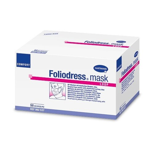 Mască medicală de unică folosință Foliodress mask, trei straturi