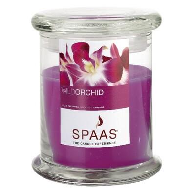 Spaas Wild orchid vonná svíčka ve skle