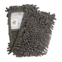 Rezervă de mop GREY CHENILLE 12 x 41 cm, chenilă din microfibre