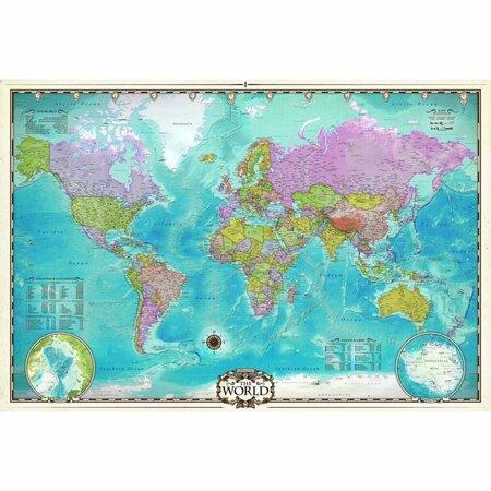 EuroGraphics Puzzle Mapa světa, 2000 dílků