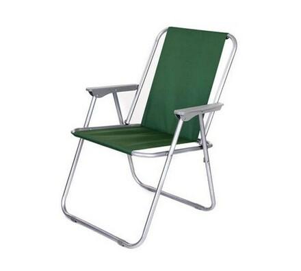 Skládací židle, zelená