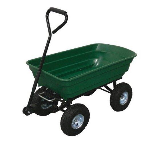Vozík záhradný sklápací, 125 l, M.A.T. Group