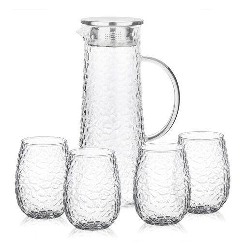 Set carafă și pahare 4Home Raindrop Hot&Cool