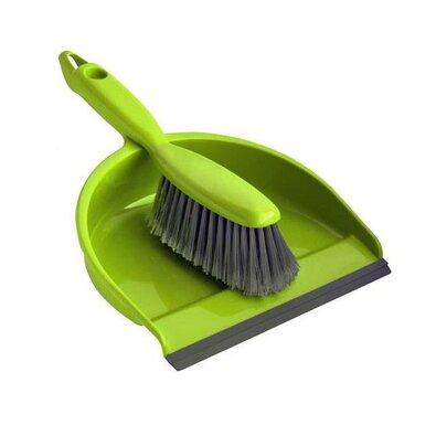 Toro Metlička a lopatka s gumovou lištou, zelená