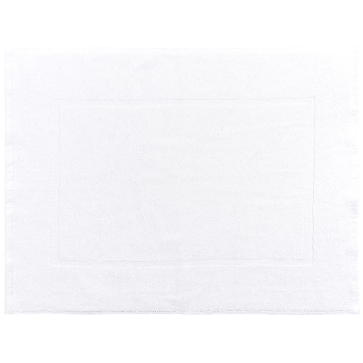 Prosop de baie pentru picioare Comfort alb, 50 x 70 cm