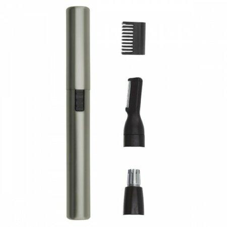 Wahl 5640-1016 Batériový nosový a ušný zastrihávač Micro Lithium Satin Silver