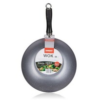 Banquet Tigaie WOK GRANITE Brown, 28 cm