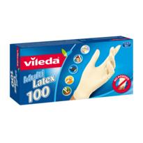 Vileda Jednorázové rukavice Multi Latex vel. M/L, 100 ks