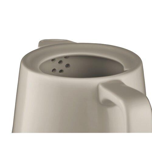 Concept RK0061 keramická rýchlovarná kanvica 1 l, hnedá