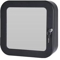 Trusă prim-ajutor, cu oglindă, negru