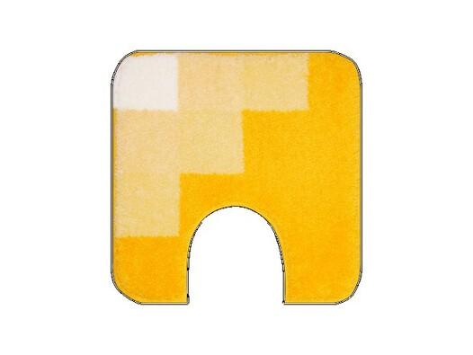 WC předložka Grund UDINE žlutá, 50 x 50 cm