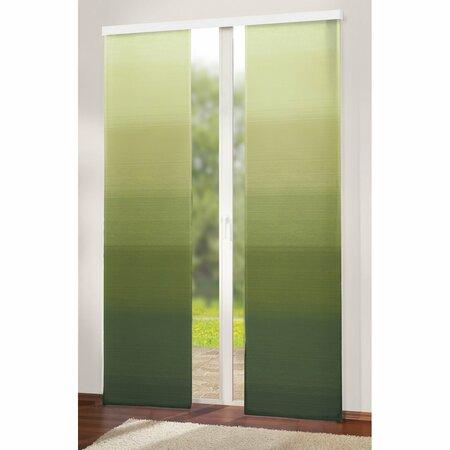 Japonská stena Darking zelená, 50 x 245 cm