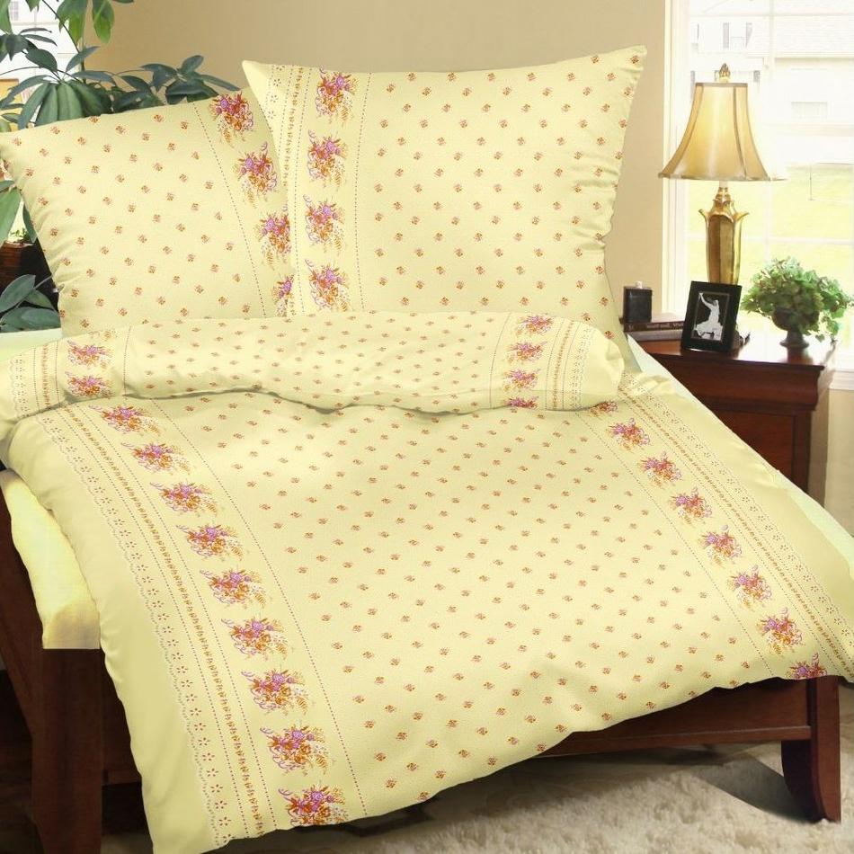 Bellatex obliečky bavlna Kvítí žlté