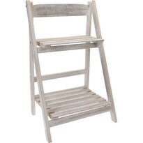 Drewniany stojak składany Bois, biały
