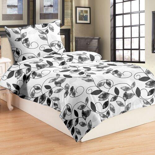 Obliečky mikroplyš Edera grey, 140 x 200 cm, 70 x 90 cm