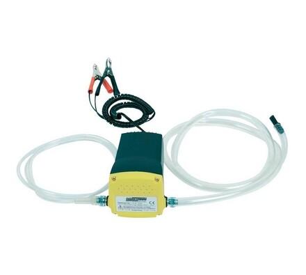 Odsávací pumpa motorového oleje, 12V, černá + žlutá