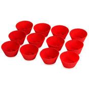 4Home Silikonové košíčky na muffiny, sada 12 ks